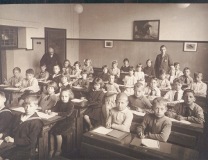My father at school in the 1920s