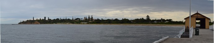 QueenscliffQueenscliff - A Panorama from the jetty