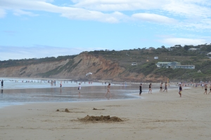 Anglesea (Australia) on a Summer's day.