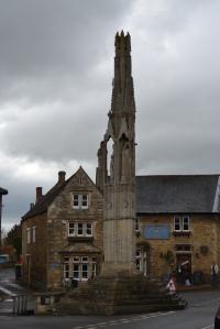 The Eleanor Cross, Geddington on a gloomy day