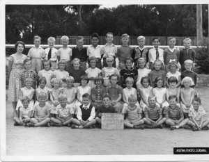 Grade 2 Ocean Grove Primary School 1958