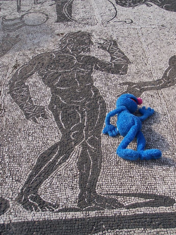 Grover in Ostia Antica