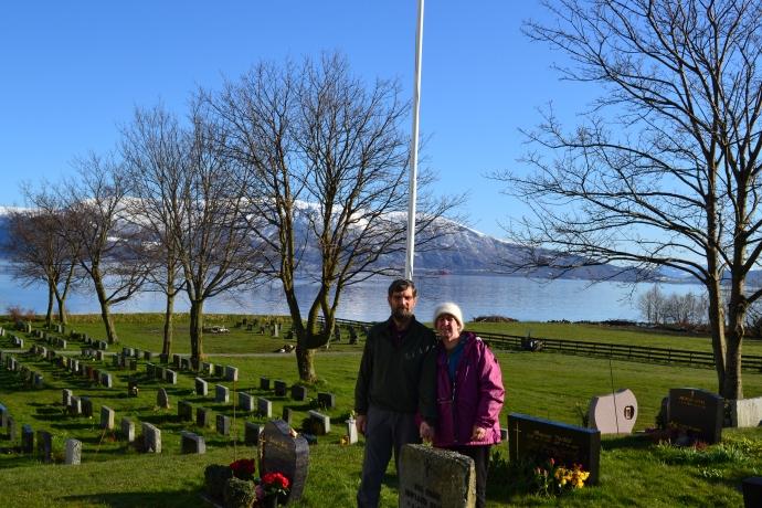 Church Graveyard in Norway